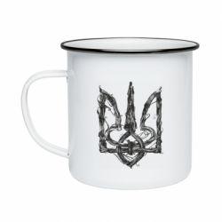 Кружка емальована Emblem 8