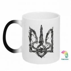 Кружка-хамелеон Emblem 8