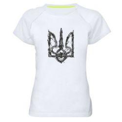 Жіноча спортивна футболка Emblem 8