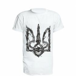 Подовжена футболка Emblem 8