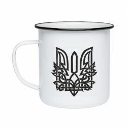 Кружка емальована Emblem 9