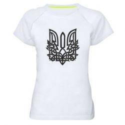 Жіноча спортивна футболка Emblem 9