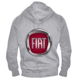Чоловіча толстовка на блискавці Emblem Fiat