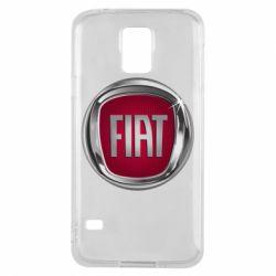 Чохол для Samsung S5 Emblem Fiat