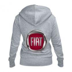 Жіноча толстовка на блискавці Emblem Fiat