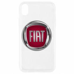 Чохол для iPhone XR Emblem Fiat