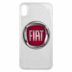 Чохол для iPhone Xs Max Emblem Fiat