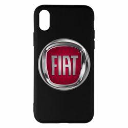 Чохол для iPhone X/Xs Emblem Fiat