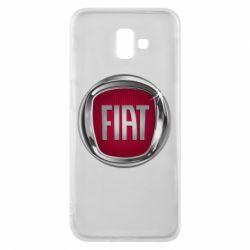 Чохол для Samsung J6 Plus 2018 Emblem Fiat