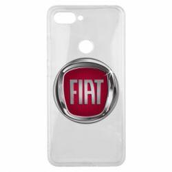 Чохол для Xiaomi Mi8 Lite Emblem Fiat