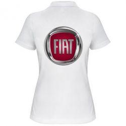 Жіноча футболка поло Emblem Fiat