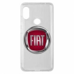 Чохол для Xiaomi Redmi Note Pro 6 Emblem Fiat