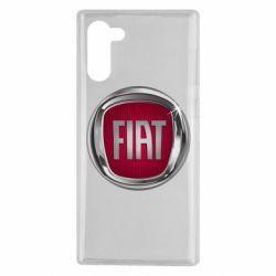 Чохол для Samsung Note 10 Emblem Fiat