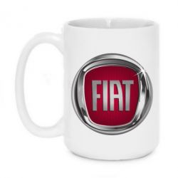 Кружка 420ml Emblem Fiat