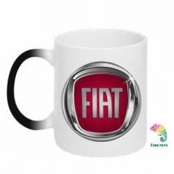 Кружка-хамелеон Emblem Fiat