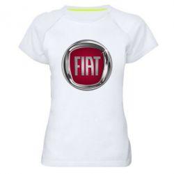 Жіноча спортивна футболка Emblem Fiat