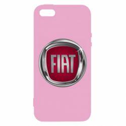 Чохол для iphone 5/5S/SE Emblem Fiat