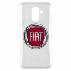 Чохол для Samsung A6+ 2018 Emblem Fiat