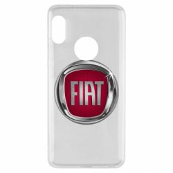 Чохол для Xiaomi Redmi Note 5 Emblem Fiat