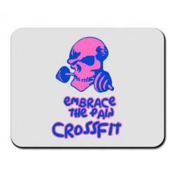Коврик для мыши Embrace the pain. Crossfit - FatLine