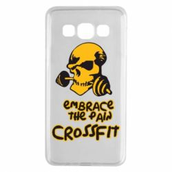 Чехол для Samsung A3 2015 Embrace the pain. Crossfit - FatLine