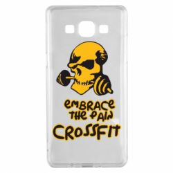 Чехол для Samsung A5 2015 Embrace the pain. Crossfit - FatLine