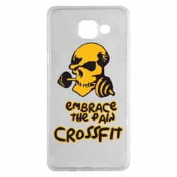Чехол для Samsung A5 2016 Embrace the pain. Crossfit - FatLine