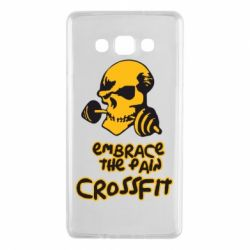 Чехол для Samsung A7 2015 Embrace the pain. Crossfit - FatLine