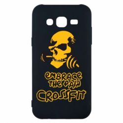 Чехол для Samsung J5 2015 Embrace the pain. Crossfit - FatLine