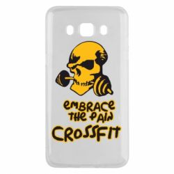 Чехол для Samsung J5 2016 Embrace the pain. Crossfit - FatLine