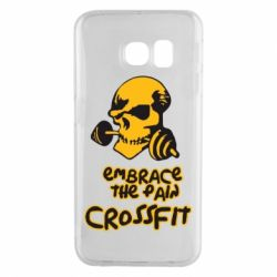 Чехол для Samsung S6 EDGE Embrace the pain. Crossfit - FatLine