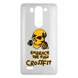 Чехол для LG G3 mini/G3s Embrace the pain. Crossfit - FatLine