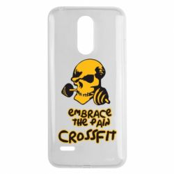 Чехол для LG K8 2017 Embrace the pain. Crossfit - FatLine