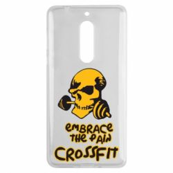 Чехол для Nokia 5 Embrace the pain. Crossfit - FatLine