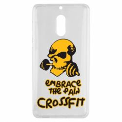 Чехол для Nokia 6 Embrace the pain. Crossfit - FatLine