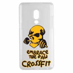 Чехол для Meizu 15 Plus Embrace the pain. Crossfit - FatLine