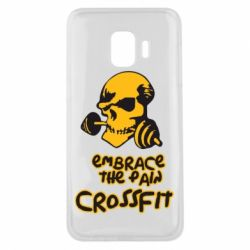 Чехол для Samsung J2 Core Embrace the pain. Crossfit - FatLine