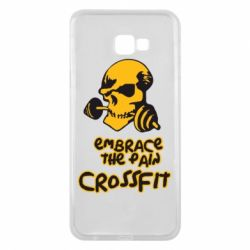 Чехол для Samsung J4 Plus 2018 Embrace the pain. Crossfit - FatLine
