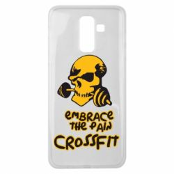 Чехол для Samsung J8 2018 Embrace the pain. Crossfit - FatLine