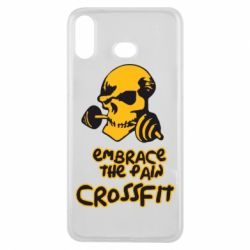 Чехол для Samsung A6s Embrace the pain. Crossfit - FatLine