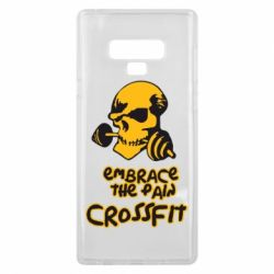 Чехол для Samsung Note 9 Embrace the pain. Crossfit - FatLine
