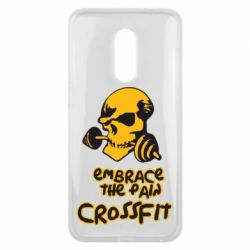 Чехол для Meizu 16 plus Embrace the pain. Crossfit - FatLine