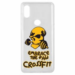 Чехол для Xiaomi Mi Mix 3 Embrace the pain. Crossfit - FatLine