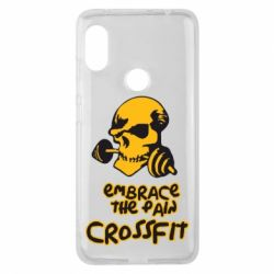 Чехол для Xiaomi Redmi Note 6 Pro Embrace the pain. Crossfit - FatLine