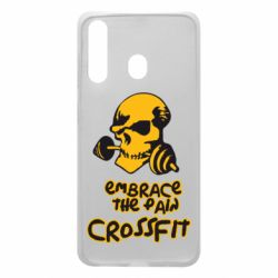 Чехол для Samsung A60 Embrace the pain. Crossfit