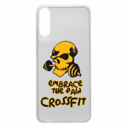 Чехол для Samsung A70 Embrace the pain. Crossfit
