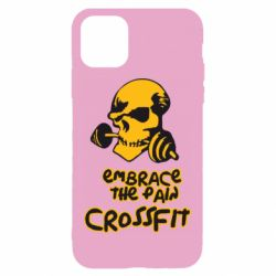 Чехол для iPhone 11 Embrace the pain. Crossfit