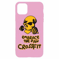Чехол для iPhone 11 Pro Embrace the pain. Crossfit