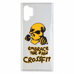 Чехол для Samsung Note 10 Plus Embrace the pain. Crossfit