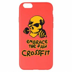 Чехол для iPhone 6 Plus/6S Plus Embrace the pain. Crossfit - FatLine